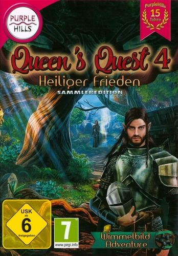 Purple Hills: Queens Quest 4 - Heiliger Frieden [DVD]