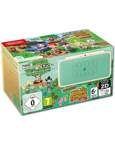 New 2DS XL Console - Animal Crossing Edition + New Leaf [New 2DS XL]