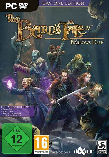 The Bard's Tale IV: Barrows Deep Day One Edition [DVD]