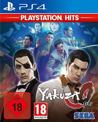 PlayStation Hits: Yakuza Zero [PS4]