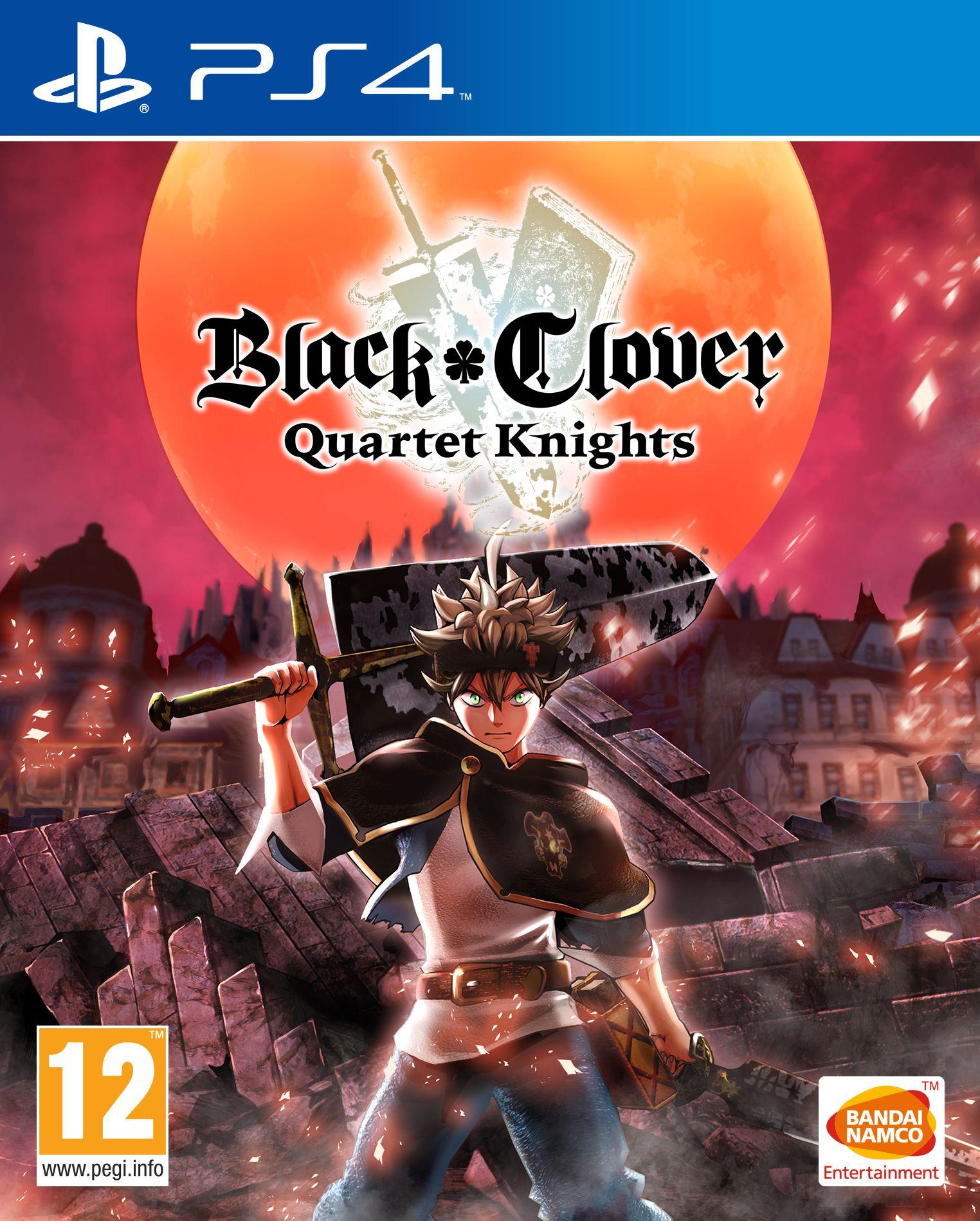 Black Clover Quartet Knights Ps4 D F I Thali