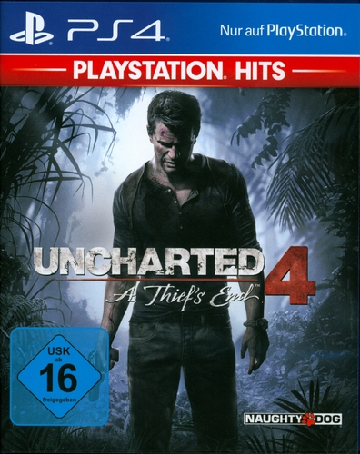 PlayStation Hits: Uncharted 4 - A Thief's End [PS4]