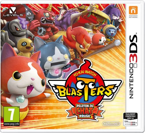 Yo-Kai Watch Blasters - Peloton du Chat Rouge