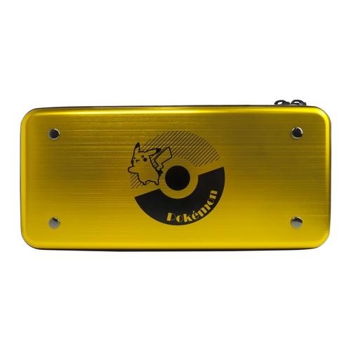 Nintendo Switch - Aluminium Case - Pokeball GOLD [NSW]