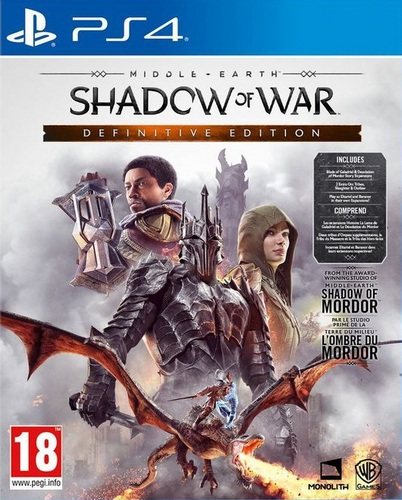 Middle-Earth Shadow of War - Definitve Edition [PS4]