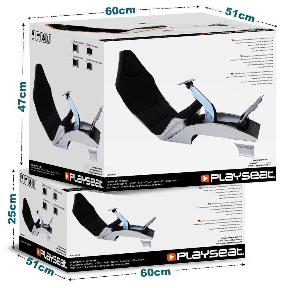 playseat f1 silver. Black Bedroom Furniture Sets. Home Design Ideas