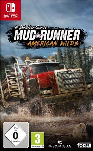 Spintires: MudRunner American Wilds Edition [NSW]