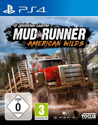 Spintires: MudRunner American Wilds Edition [PS4]