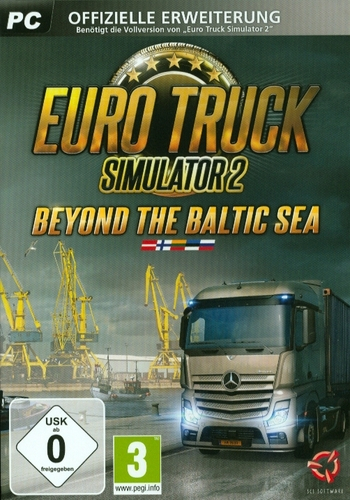 Euro Truck Simulator 2: Beyond the Baltic Sea DLC Pack [DVD]