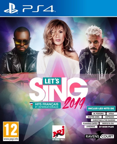 Let's Sing 2019 Hits français et internationaux [PS4]