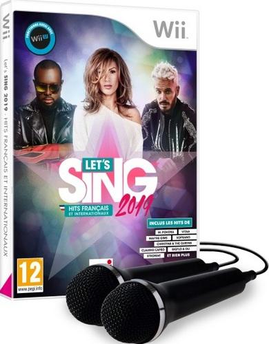 Let's Sing 2019 Hits français et internationaux + 2 Mics
