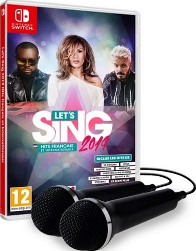 Let's Sing 2019 Hits français et internationaux + 2 Mics [NSW]