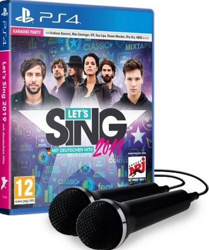 Let's Sing 2019 mit Deutschen Hits + 2 Mics [PS4]
