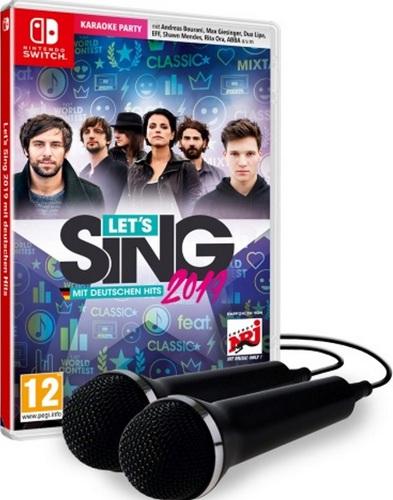Let's Sing 2019 mit Deutschen Hits + 2 Mics [NSW]
