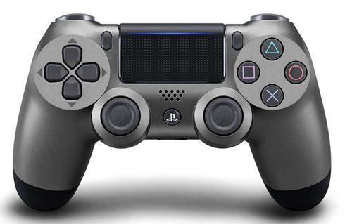 Dualshock 4 Wireless Controller - Steel Black [PS4]