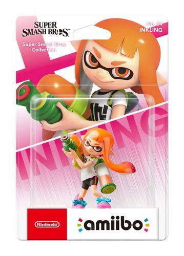 amiibo Super Smash Bros. Character - Inkling Girl