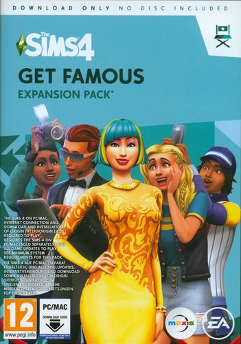The Sims 4 Get Famous - Expansion Pack 6 [Code in a Box]