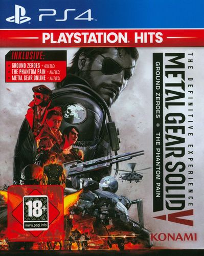 PlayStation Hits: Metal Gear Solid 5 [PS4]
