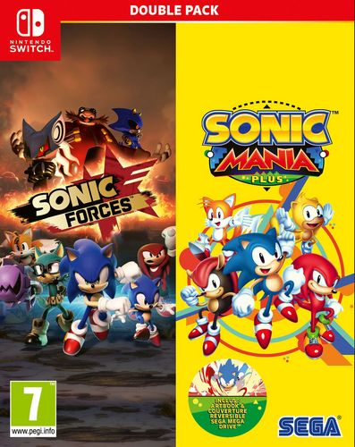 Sonic Mania Plus and Sonic Forces Double Pack [NSW]