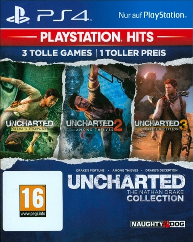 PlayStation Hits: Uncharted Collection [PS4]