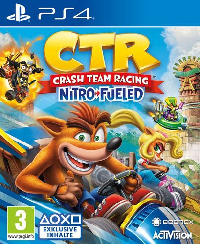 CTR Crash Team Racing - Nitro-Fueled [PS4]