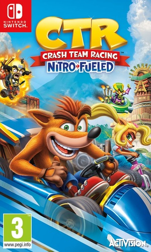 CTR Crash Team Racing - Nitro-Fueled [NSW]