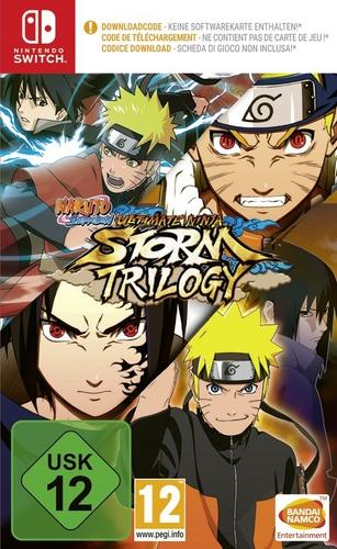 Naruto Ultimate Ninja Storm - Trilogy [NSW] [Code in a Box]