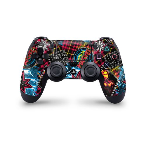 Skin Controller PS4 - CM 90s Pattern - 3M [PS4]