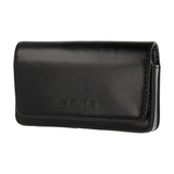Valenta Universal Leather Belt Case Arezzo [Size 3XL, 4.5in] - black