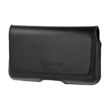 Valenta Universal Leather Belt Case Durban [3XL, 4.7in] - black