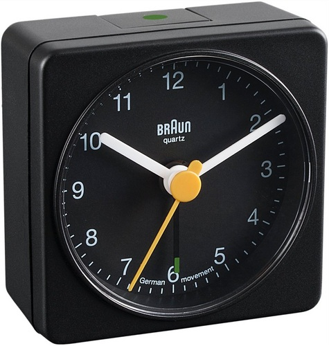 Travel Alarm Clock BNC002 black