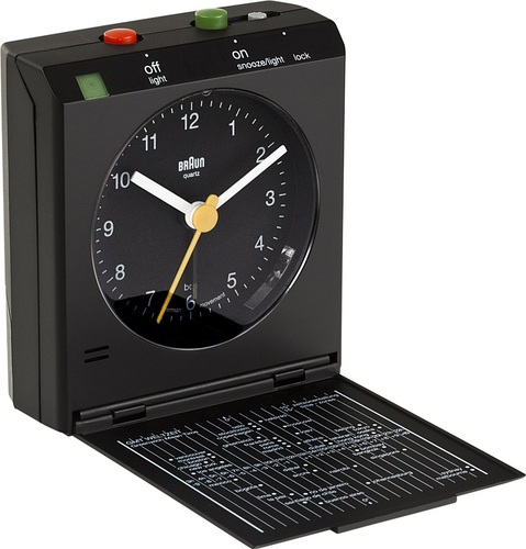 Reflex Control Travel Alarm Clock BNC005 black