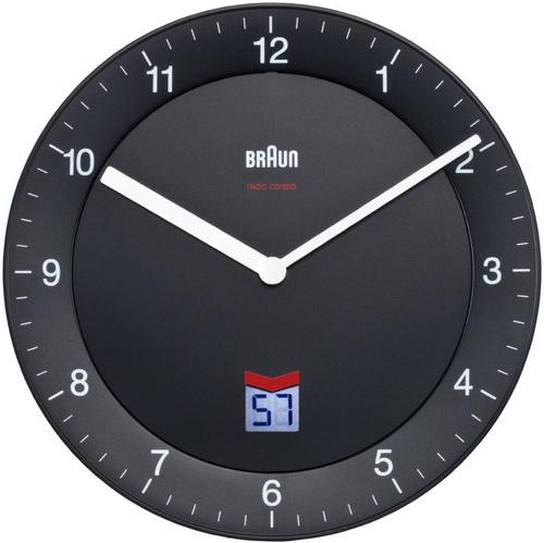 Orologio da parete radiocontrollato BNC006 nero