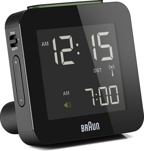 Réveil digitale radiocommandé globale BNC009 noir