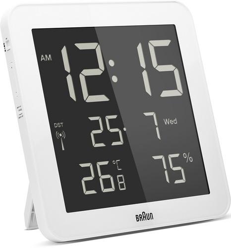 Sveglia digitale BNC014 bianco