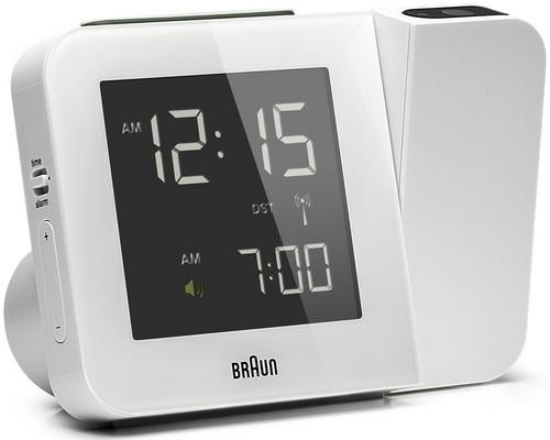 Orologio digitale con funzione di proiezione BNC015 bianco