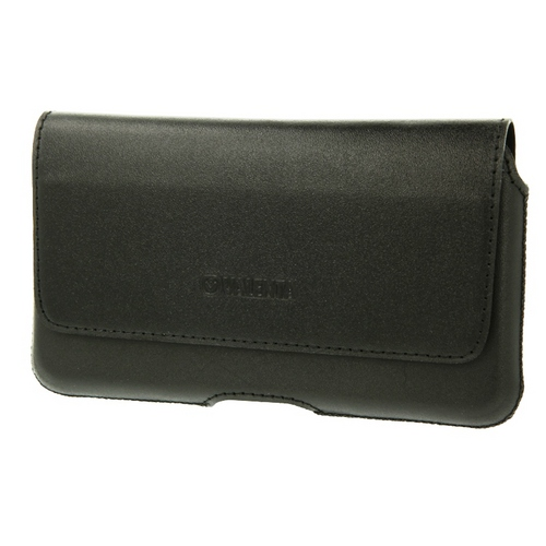 Valenta Universal Leather Belt Case Durban [4XL, 5.5in] - black