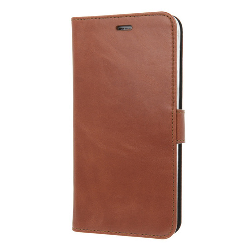 iPhone 6 Plus/6s Plus / Valenta Leather Booklet Classic Luxe - brown