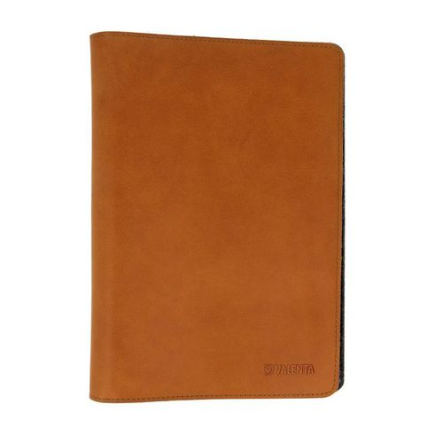 Valenta Universal Tablet Sleeve Raw [7.0-8.4in] - vintage cognac
