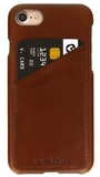 iPhone 7 / Valenta Leather Backcover Classic Luxe - brown