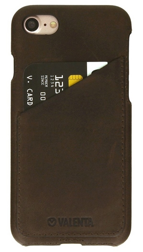Valenta Leather Backcover Classic Luxe - iPhone 7 / 8 - vintage brown