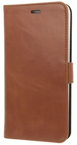 iPhone 7 / Valenta Leather Booklet Classic Luxe - brown