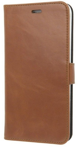 iPhone 7 Plus / Valenta Leather Booklet Classic Luxe - brown