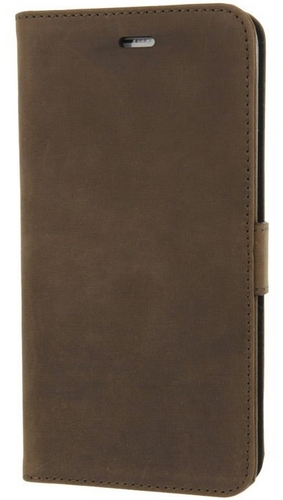 Valenta Leather Booklet Classic Luxe - iPhone 7/8 - vintage brown
