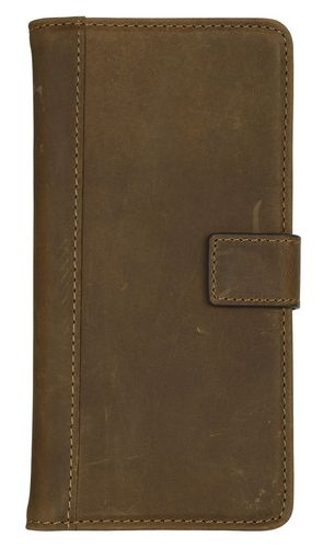 Scutes Booklet Case - iPhone 7 / 8 Plus [w/ Credit Card Slot] - antic brown