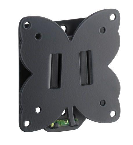 SlimStyle 100 S - Supporto da parete per TV [14-25 pollici] - nero