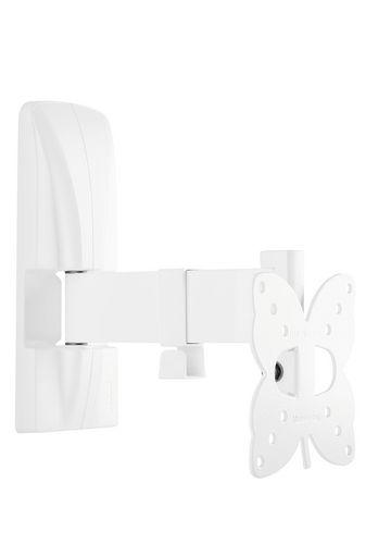 SlimStyle 100 SR - Support mural pour TV [14-25 pouces] - blanc