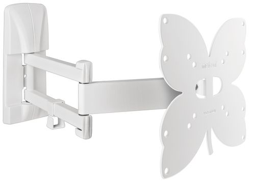 SlimStyle 200 SDR - Support mural pour TV [26-40 pouces] - blanc