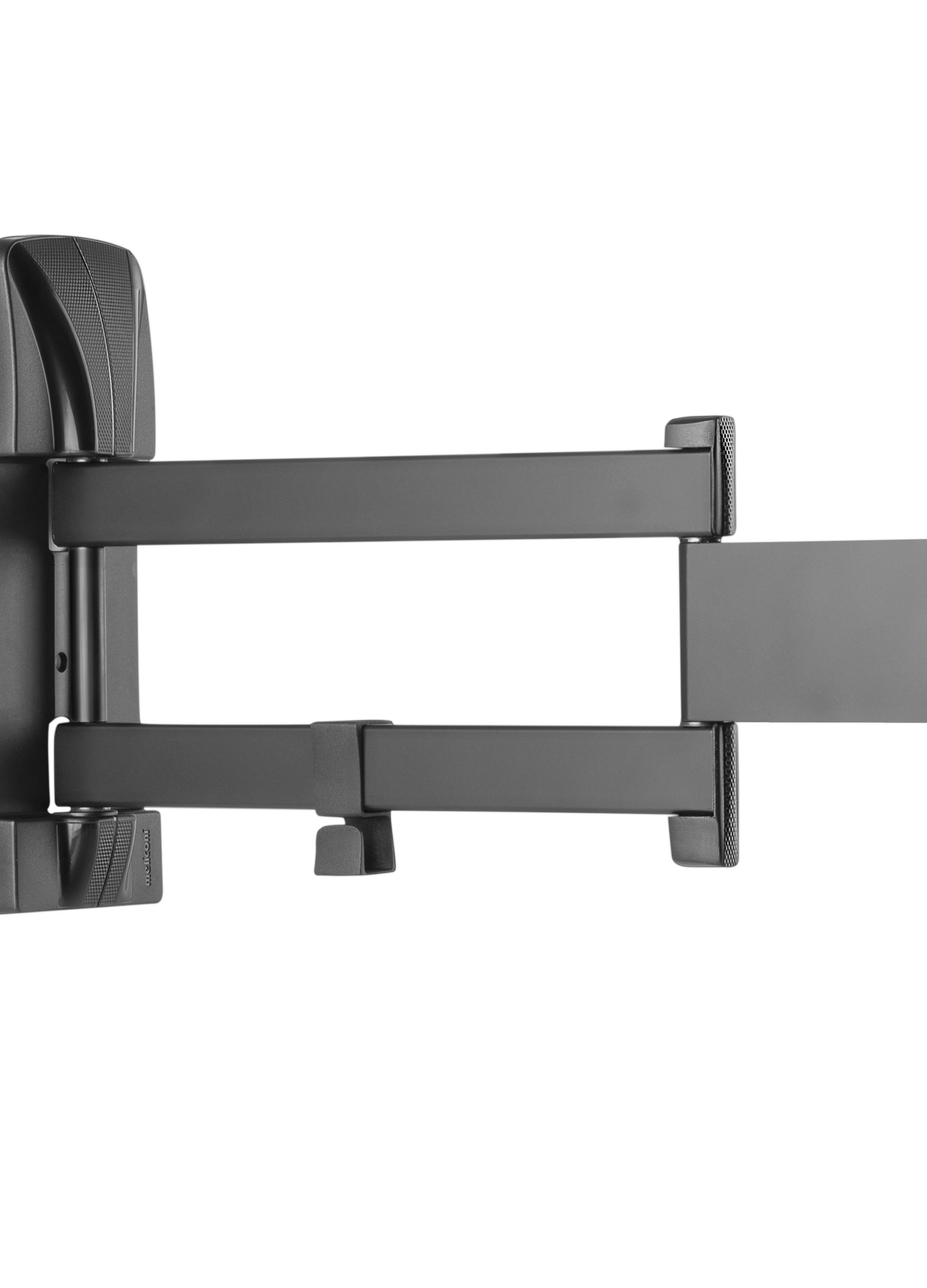 slimstyle 400 sdr tv wandhalterung 40 50 zoll schwarz. Black Bedroom Furniture Sets. Home Design Ideas