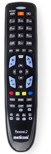 Universal Remote Control GumBody Personal 2 LG - black
